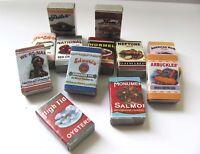 1:12 - 12 Miniaturen für die Puppenhaus Küche o.Laden