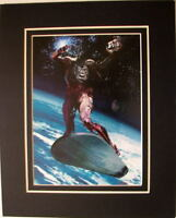 Arthur Suydam DECAPITATED SILVER SURFER #1 COVER MATTED PRINT Marvel Zombies