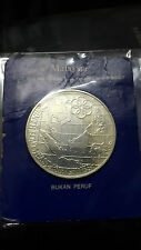 Malaysia  9th SEA Games 1977 Silver non proof coin UNC RM25