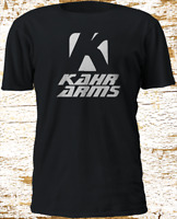 New KAHR ARMS Firearms Army Military US Police Gun Black T-Shirt S-4XL