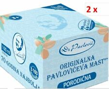2 x ORIGINAL PAVLOVIC OINTMENT-FAMILY(3-103 Year)-Pavloviceva mast za celu porod