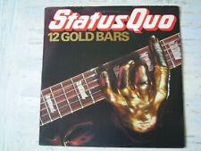 Status Quo - 12 GOLDEN BARS (Lp) Press ITALY 1980