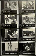 STARDUST MEMORIES 1980 ORIG LOBBY CARD SET 11X14 WOODY ALLEN JESSICA HARPER