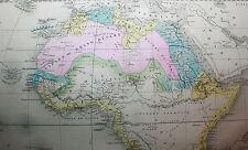 Atlas Géographique et Historique Félix Ansart 1846 1851 32 cartes en couleurs EO