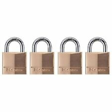 Master Lock 120Q Keyed-Alike Wide Padlocks, 3/4-inch, Solid Brass