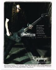 2008 EPIPHONE Apparition Electric Guitar MARCUS HENDERSON advertisement