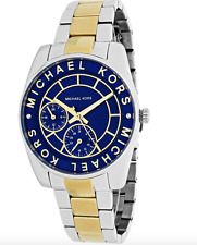 Michael Kors Ryland MK6195 Blue Dial Two-Tone Stainless Steel Women's Watch