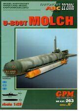 Card Model Kit – Molch U-boat