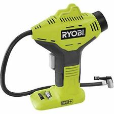 Compact Design 18V Cordless High Pressure Inflator Car Tyres Body Only Grey