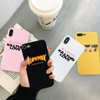 Fashion Bands Blackpink Kill This Love case for iPhone 11 Pro Max XR XS X 6s 7 8