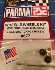 Parma 677 Wheelie Wheels Kit Slot Car 1/24 Mid-America Naperville