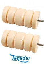 2xCellastofeder 400Kg Westfalia PKW-Anhänger Federelement Gummifeder ACHSSATZ