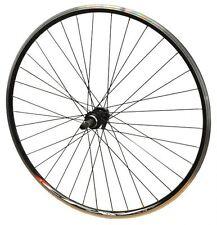 700c POSTERIORE MACH Nero Bici Ciclismo Su Strada CFX QR a vite su Ruota & Nero Raggi