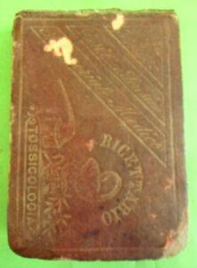 RICETTARIO TASCABILE DEL DOTTOR SORESINA. 5°EDIZIONE CON TOSSICOLOGIA 1882
