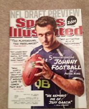 JOHNNY MANZIEL Sports Illustrated MAGAZINE May 5, 2014  NFL DRAFT PREVIEW BROWNS