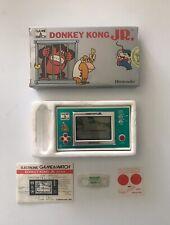 Nintendo Game & Watch Donkey Kong Jr Dj-101 Completo Giochi Preziosi Italy G&W