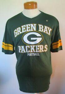 NWT VF Imagewear Green Bay Packers Mens Logo Jersey Shirt S Green MSRP$28