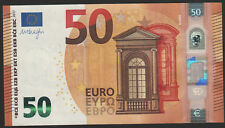 50 euro banknote 2017 UNC Prefix-P Netherlands sign. Mario Draghi
