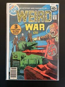 Weird War Tales 75 Higher Grade DC Comic Book D33-21