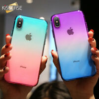 Case For iPhone Xr Xs MAX 10 X 8 7 Slim Crystal Protector Shockproof Soft Cover