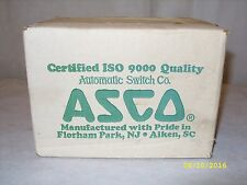 """ASCO - 1/4"""" INCH - 4 WAY ELECTRONIC SOLENOID VALVE - EF8344G44 *FACTORY SEALED*"""