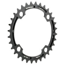 E.Thirteen E13 ChainRing 34t - 7075-T6 - black ano (CR.34.K) mtn bike/dh/bmx/dj