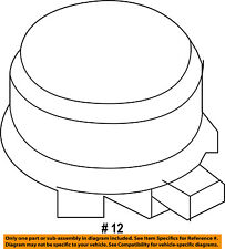 FORD OEM-Blower Motor 7T4Z19805A