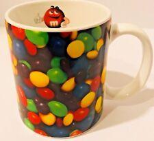 M & M Mug with Red M&M Inside Giving Thumbs Ups Coffee / Tea Mug Cup