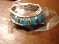 LADIES BLUE AND SILVER BRACLET (NEW)