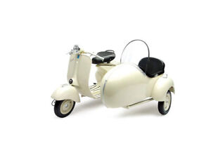 1:6 Vespa 150 VL 1T with Sidecar by New-Ray Toys in Cream 48993