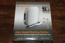 Belkin High Speed Docking Station with ExpressCard and PCMCIA card