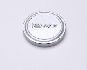 Rare Minolta Chiyoko Rokkor 36mm Silver Metal Front Lens Cap (#7558)