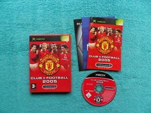 MANCHESTER UNITED CLUB FOOTBALL 2005 - microsoft xbox