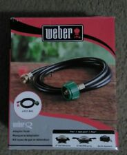 Weber 6501 Adapter Hose for Weber Q-Series and Gas Go-Anywhere Grills, 6-Feet ,