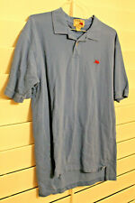 Perlis XL Blue Polo with Crawfish Cajun New Orleans