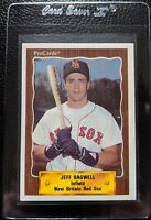 1990 PROCARDS #1324 JEFF BAGWELL NEW BRITAIN RED SOX MINOR LEAGUE ROOKIE RC HOF