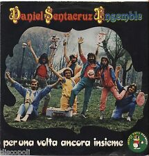 """DANIELE SANTACRUZ ENSEMBLE Per una volta ancora...VINYL 7"""" 45 LP 1982 NM/ VG"""
