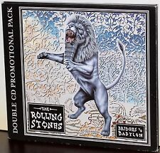 VIRGIN PROMO 2-CDs IVDG-2840: The ROLLING STONES - Bridges to Babylon - 1997 UK