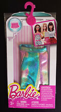 Barbie Vestiti Shiny Metallic Gonna. Barbie Mattel. NUOVO IN CONFEZIONE ACCESSORI.