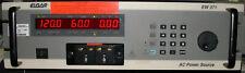 Manual or Programmable AC Power Source Elgar EW371