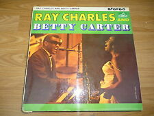 RAY CHARLES & BETTY CARTER Ray Charles et Betty Carter HMV CSD 1414 RARE stéréo