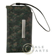 Apple iPhone 5C/i5C/Lite Wallet Pouch Camo Green Case Cover Shell Shield