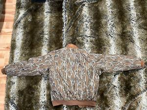 Columbia Vintage Mossy Oak Bomber Thinsulate Liner Jacket Sz Medium