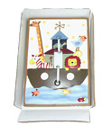 Noahs Ark Plate Cover Light Switch Kids Line Two By Two Animals Baby Sealed