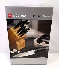 WUSTHOF Classic Ikon 12 Piece Knife Block Set Germany 8312 NEW