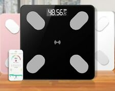 SMART BATHROOM BLUETOOTH GLASS SCALES BMI BODY FAT MONITOR WEIGHING iOS ANDROID