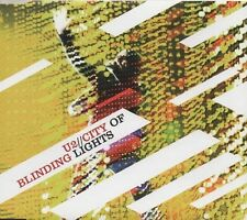 U2 City of Blinding Lights 2 TRACK CD NEW - NOT SEALED