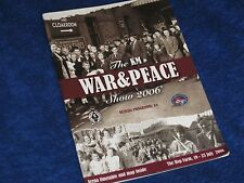 THE WAR & PEACE SHOW OFFICIAL PROGRAMME 2006