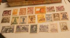 Poland Old Vintage Stamp Collection