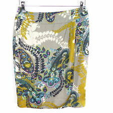 ST. EMILE Damen Rock colourful Muster Gr. 36 Unterteil Skirt